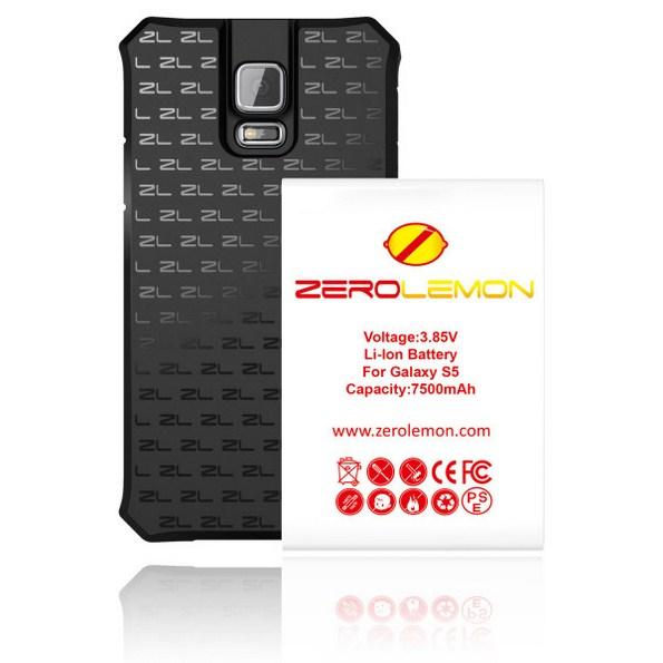 Усилинная батарея на 7500 мАч и уникальный кейс ZeroLemon для Samsung Galaxy S5