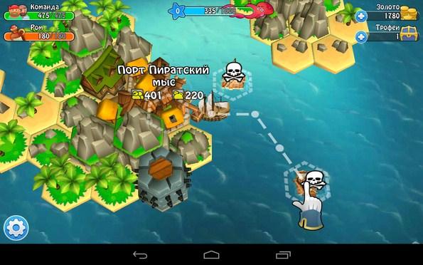 Age of Wind 3 – жизнь пирата для Галакси С5, С4, Нот 3
