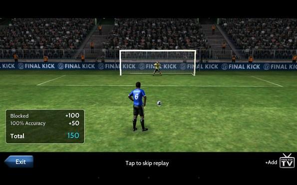 Final Kick – серия пенальти для Samsung Galaxy S5, S4, Note 3