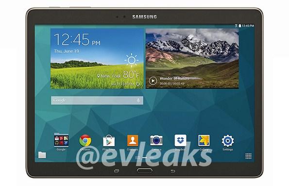 Samsung Galaxy Tab S 10.5 - официальные изображения планшета