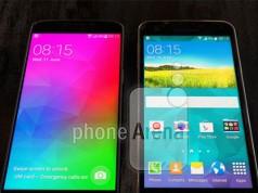 Фотография с Galaxy F и Galaxy S5