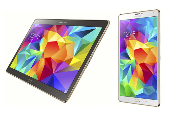 Samsung официально представили планшеты Galaxy Tab S 8.4 и Galaxy Tab S 10.5