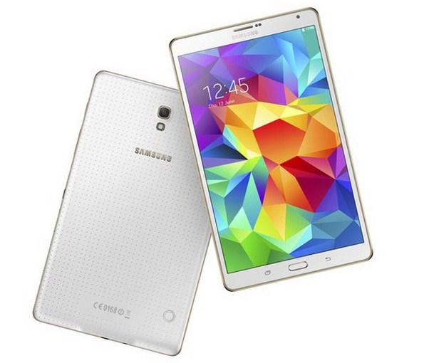 Белый Samsung Galaxy Tab S 8.4
