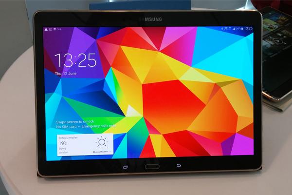 Дисплеи Samsung Galaxy Tab S лучше среди планшетов