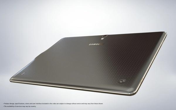 Задняя крышка Samsung Galaxy Tab S