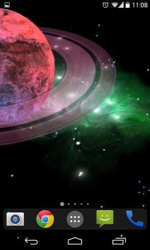 3D Galaxy Live Wallpaper - живые обои на телефоны Galaxy