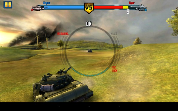Boom! Tanks – бои на танках для Samsung Galaxy S5, S4, Note 3