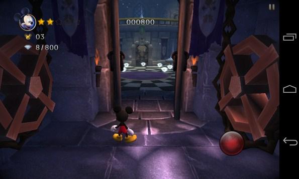 Castle of Illusion - платформер на смартфоны Android