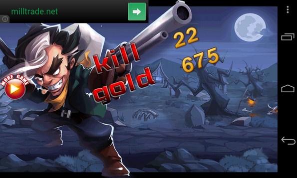 Crazy Cowboy Sniper War - игра на смартфоны Самсунг Галакси