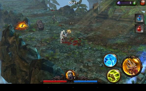 Eternity Warriors 3 – адское противостояние для Samsung Galaxy S5, S4, Note 3