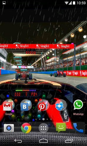 Formula Live Wallpaper - живые обои на смартфоны Samsung Galaxy S4, Samsung Galaxy S5, Samsung Galaxy Note 3