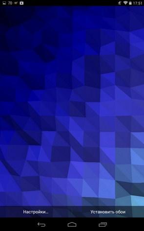 """Fracta – """"многоугольные"""" обои для Samsung Galaxy Note 3, S5, S4, S3"""