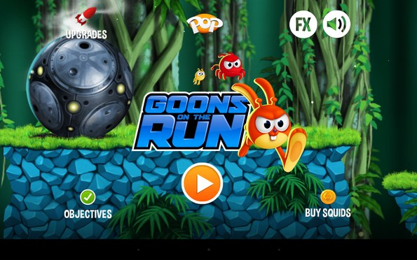 Goons On The Run – неизведанные миры для Samsung Galaxy S5, S4, Note 3