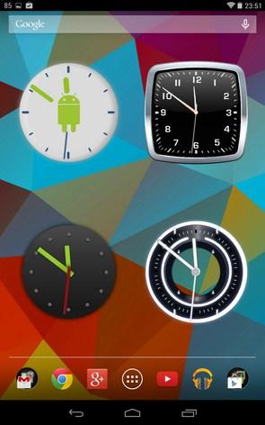 Виджет — это выносной элемент интерфейса, который можно разместить на главном экране android.