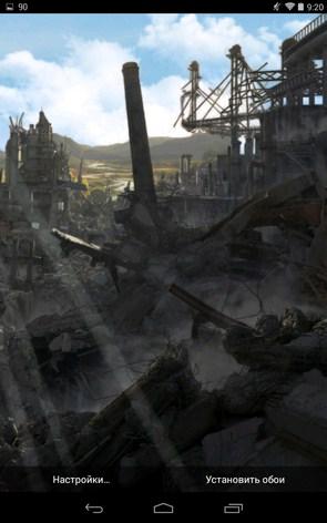 Postapocalypse – мир в разрухе ля Samsung Galaxy Note 3, S5, S4, S3