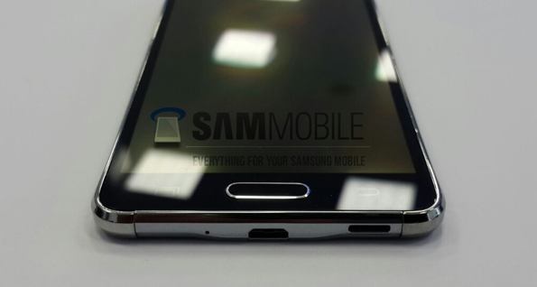 Смартфон Samsung Galaxy Alpha (SM-G850) на фото