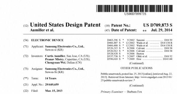 Патенты новых SmartWatch с круглыми дисплеями от Samsung