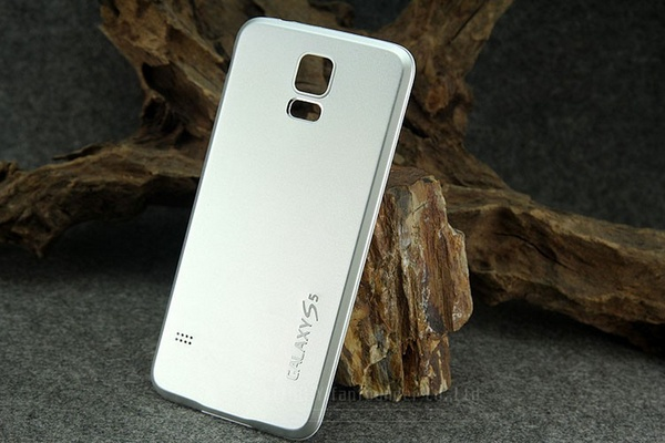 Серебристые панели для Samsung Galaxy S5