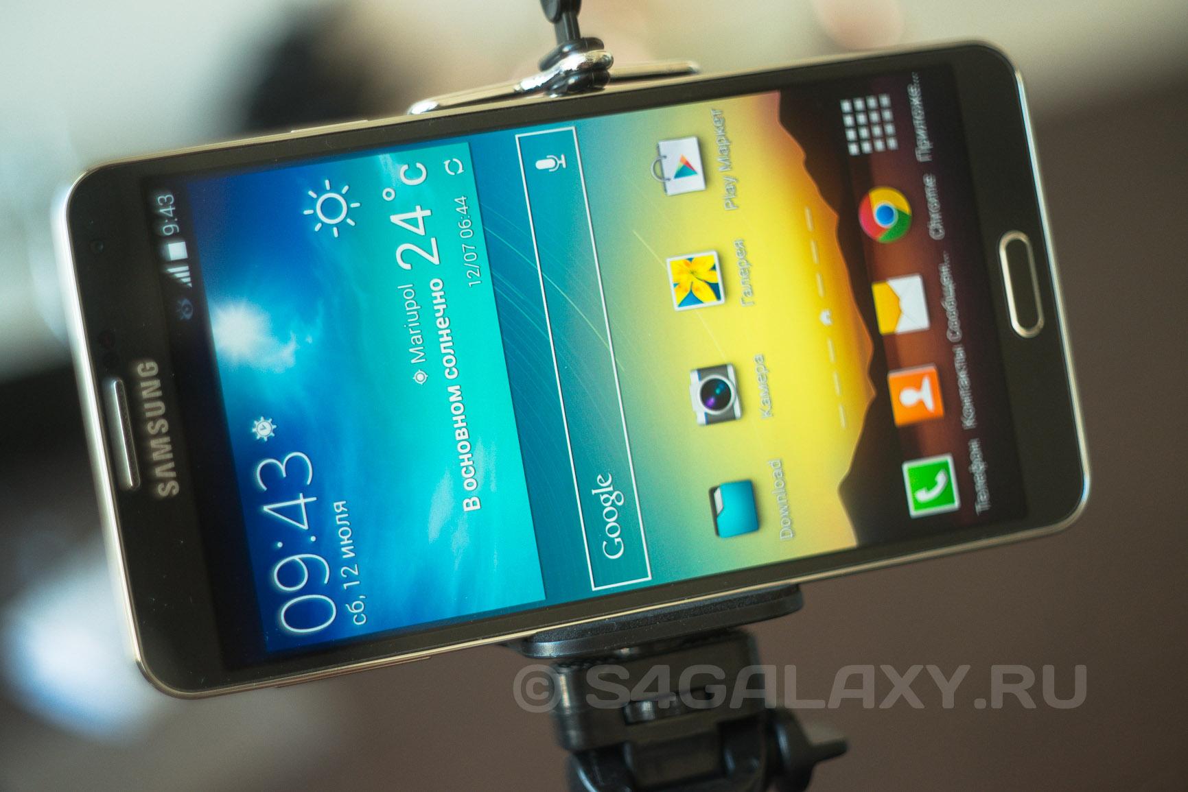 Держатель на штатив для Samsung Galaxy