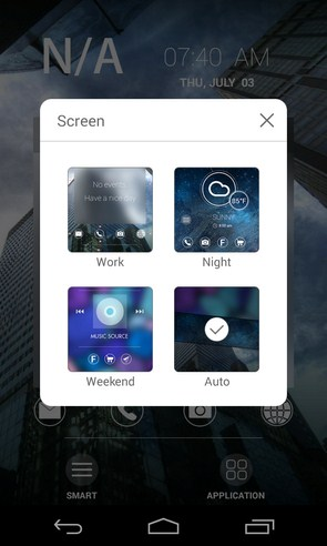 Smart Screen (Beta) - лаунчер на смартфоны Samsung Galaxy S4, S5, Note3