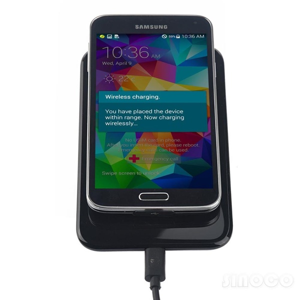 Wireless Charging Galaxy S5