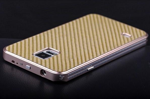 Чехол из карбона и алюминия для Samsung Galaxy S5