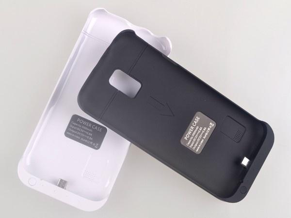 Кейс с батареей на Галакси С5 мини - белый
