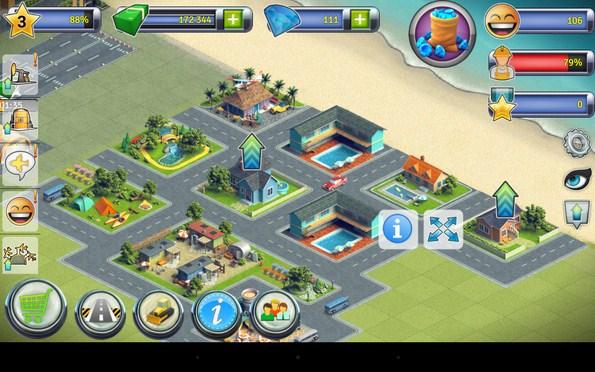 City Island: Airport 2 – райское местечко для Samsung Galaxy Note 3, S5, S4, S3