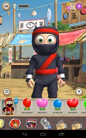 Clumsy Ninja – игра с ниндзя для Samsung Galaxy S5, S4, Note 3