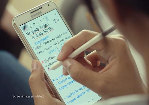 Первый тизер с Galaxy Note 4