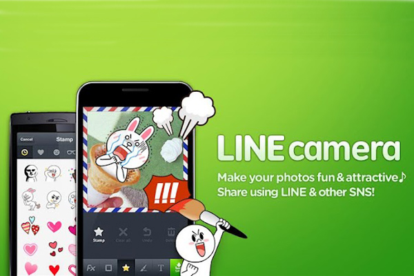 LINE Camera – инструмент для селфи для Samsung Galaxy Note 3, S5, S4, S3