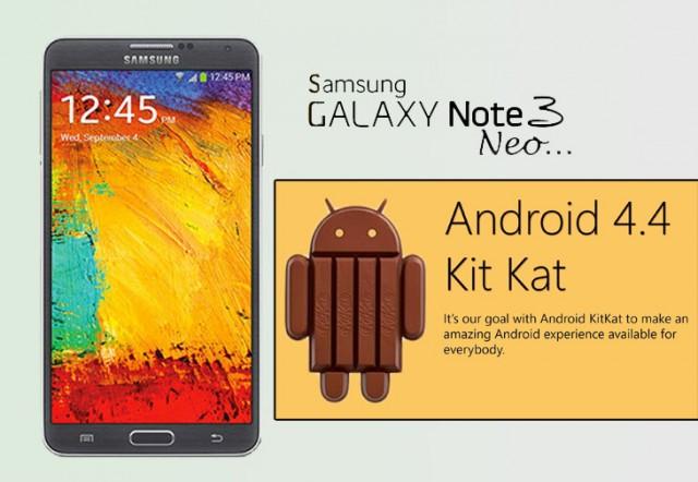 Новая прошивка KitKat для Samsung Galaxy Note 3 Neo