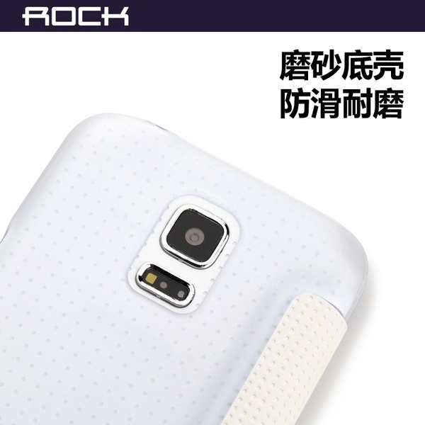 Элегантный флип-чехол для Galaxy S5 Mini - белый