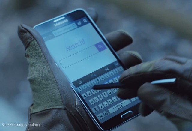 Второй тизер Samsung Galaxy Note 4