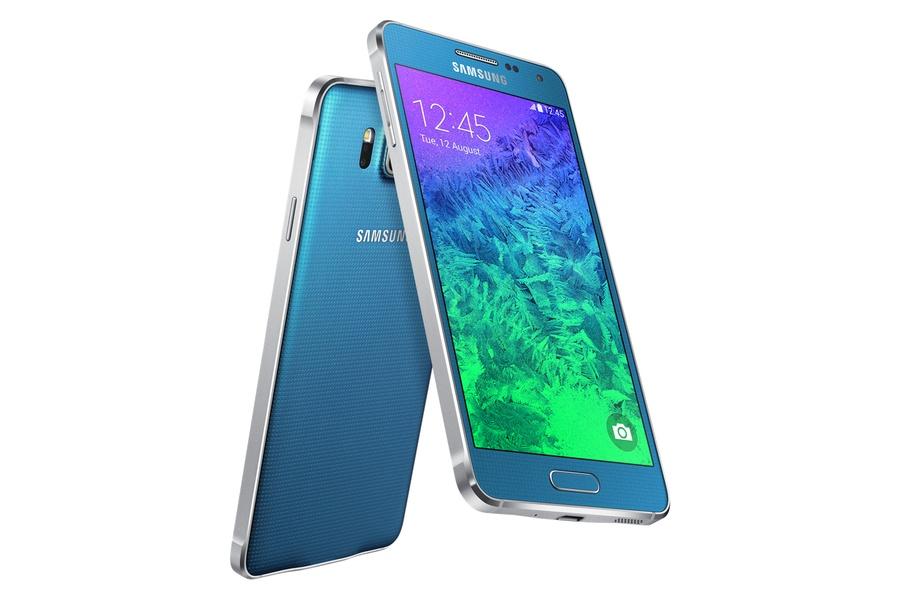 Samsung Galaxy Alpha синий