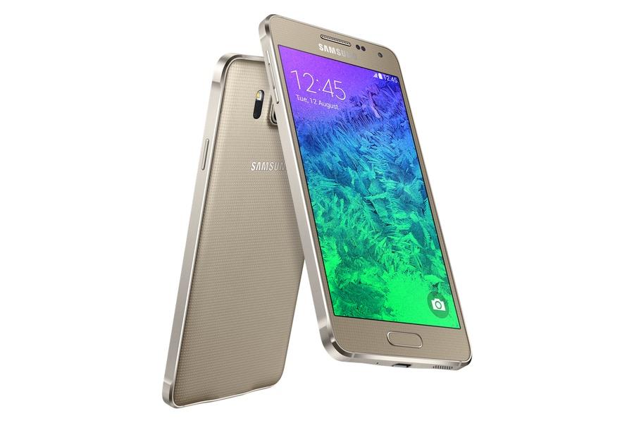 Samsung Galaxy Alpha золотистый
