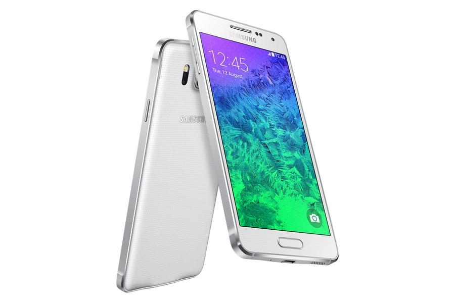 Samsung Galaxy Alpha белый