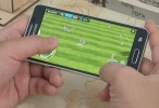 Samsung Galaxy Alpha в играх — новое видео