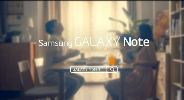 Рекламный тизер Galaxy Note 4