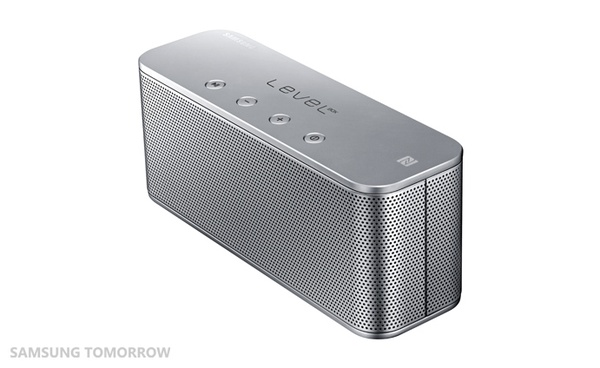 Samsung Level Box mini wireless speaker - серебристая