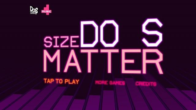 Size DOES Matter - уникальная аркада
