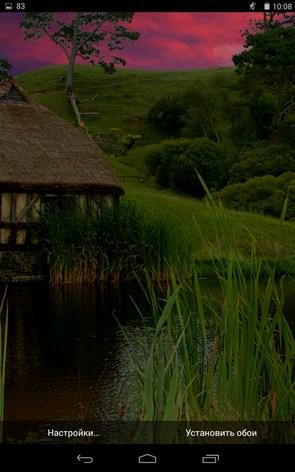 Watermill – домик на речушке для Samsung Galaxy Note 3, S5, S4, S3