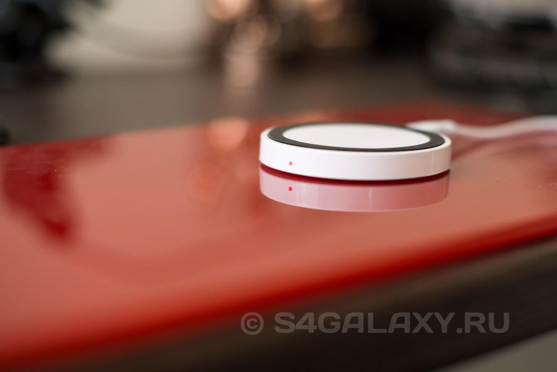 Беспроводная зарядка для Galaxy S5 S4 Note 3