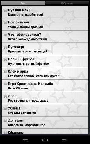 Игры для вечеринок – веселое времяпровождение для Samsung Galaxy Note 3, S5, S4, S3