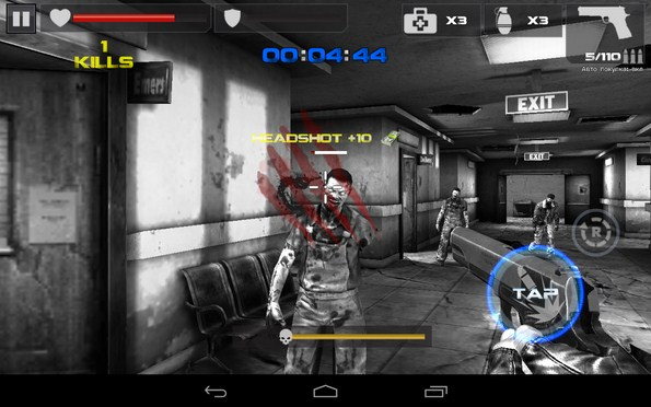 Dead Target: Zombie – война с зомби для Samsung Galaxy S5, S4, Note 3