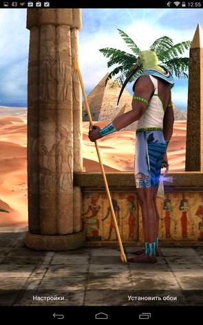 Egypt 3D – древние божества для Samsung Galaxy Note 3, S5, S4, S3