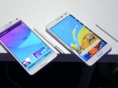 Прогнозы о количестве поставок Samsung Galaxy Note 4 и Galaxy Note Edge