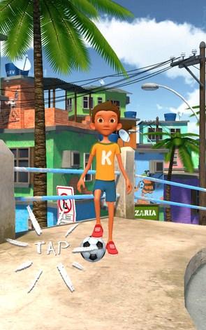 Kickerinho – выбиваем мяч для Samsung Galaxy S5, S4, Note 3