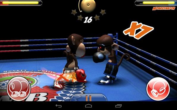 Monkey Boxing – боксируем мартышкой для Samsung Galaxy Note 3, S5, S4, S3