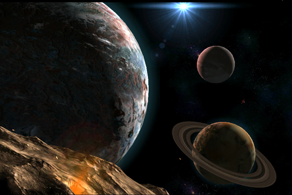 Planetscape 3D – взгляд на космос для Samsung Galaxy S5, S4, Note 3